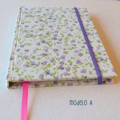 Agenda artesanal - con renglones