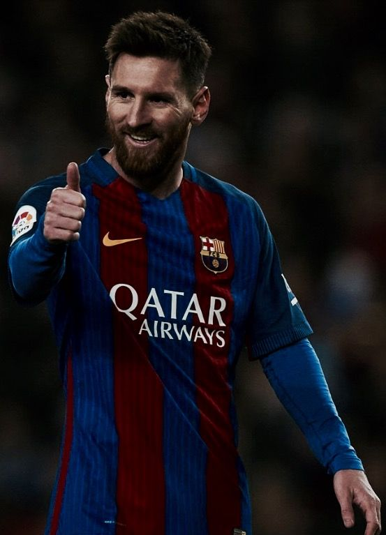Messi finally got rid of his blonde hair