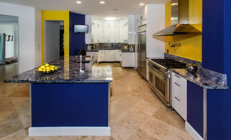 Beautiful Blue Granite Kitchen    #kitchen #countertop #counter #granite #luxury #luxurykitchen #home #luxuryhome #southflorida #design #delraybeach #bocaraton #natureofmarble #island #graniteisland #granitekitchen #granitecounter #granitecountertop