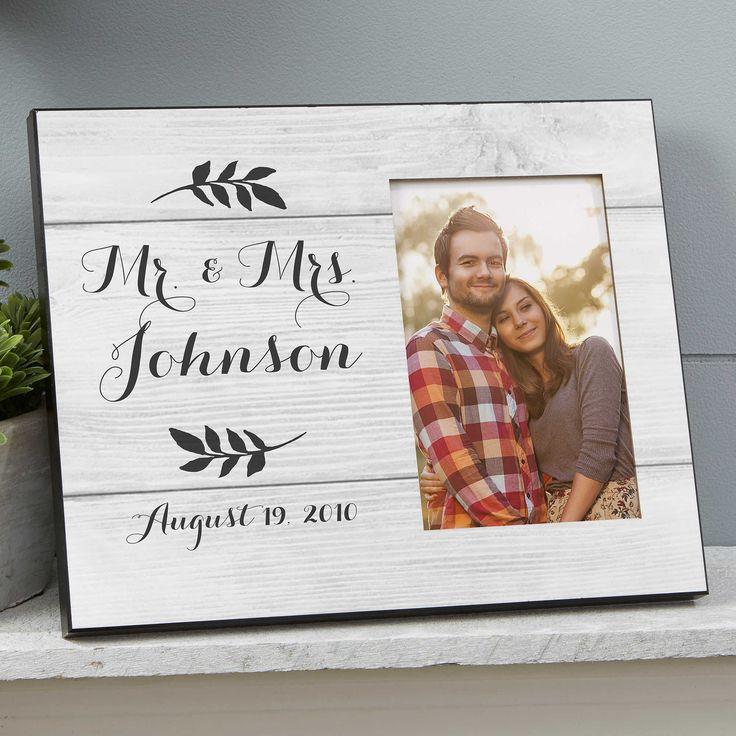 Farmhouse Wedding Picture Frame