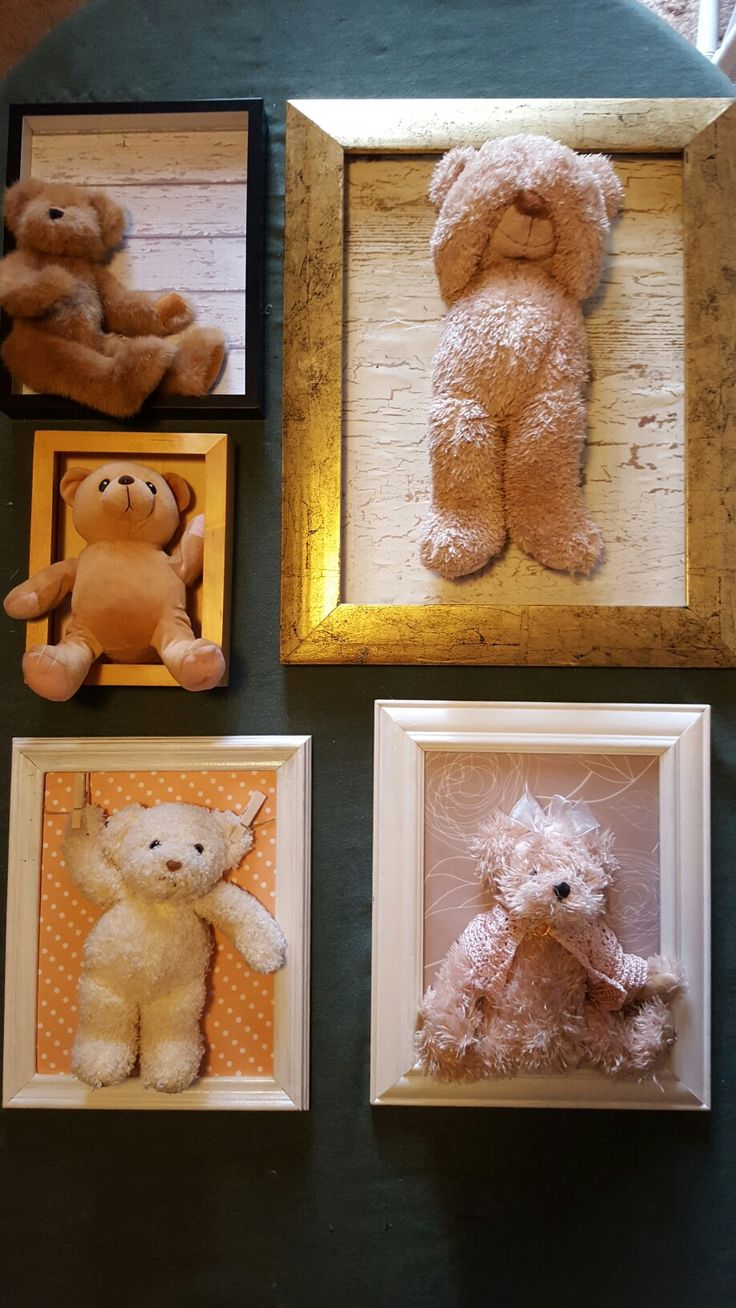 Framed teddies