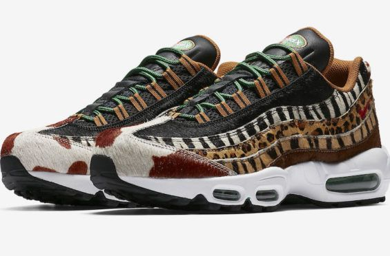 OFFICIAL IMAGES: ATMOS X NIKE AIR MAX 95 ANIMAL PACK