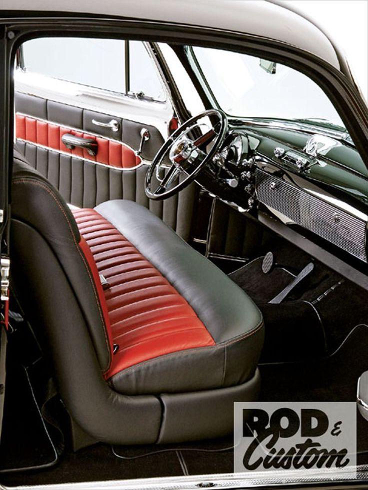 1950 Oldsmobile Futuramic 88 Deluxe Club Coupe Interior