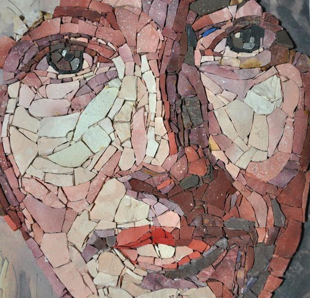 WOMAN PORTRAIT, 2014 by Roberto Hamed - Mosaic Artworks