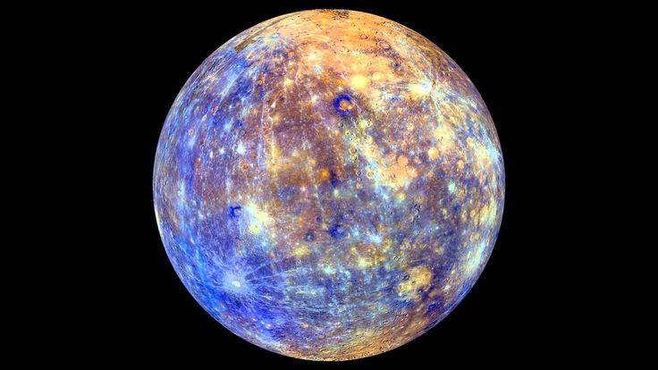 Spinning Mercury Map From Orbiter Snaps | Video