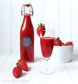 Lecker Erdbeerlimes - schönes Mitbringsel zur nächsten Gartenparty - Ruck Zuck im THERMOMIX gemacht
