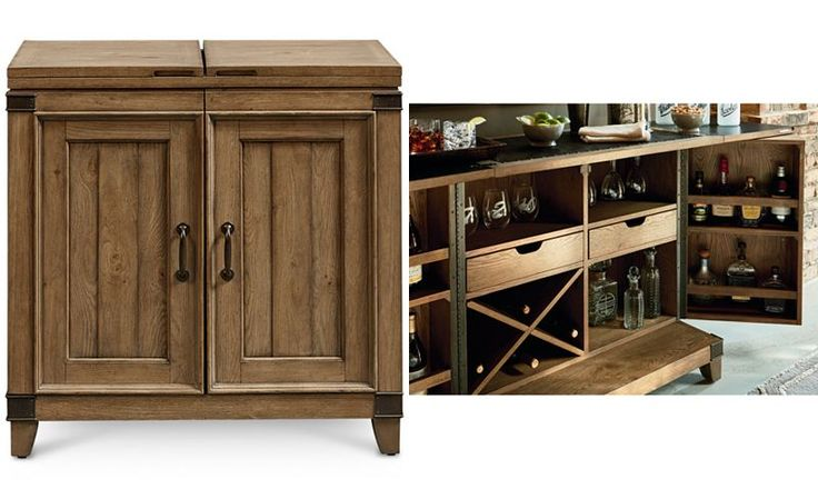 Metalworks Bar Cabinet - Furniture - Macy's