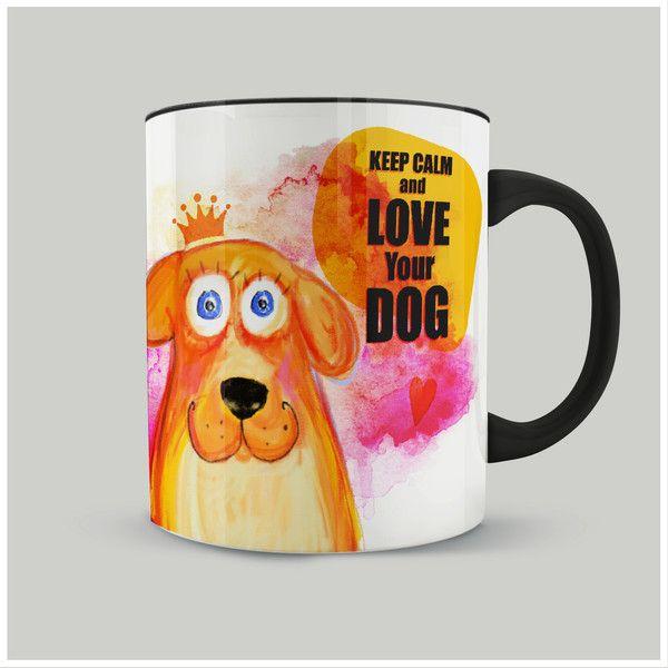 Kubek Keep Calm and love Your dog - FajnyMotyw - Kubki i filiżanki