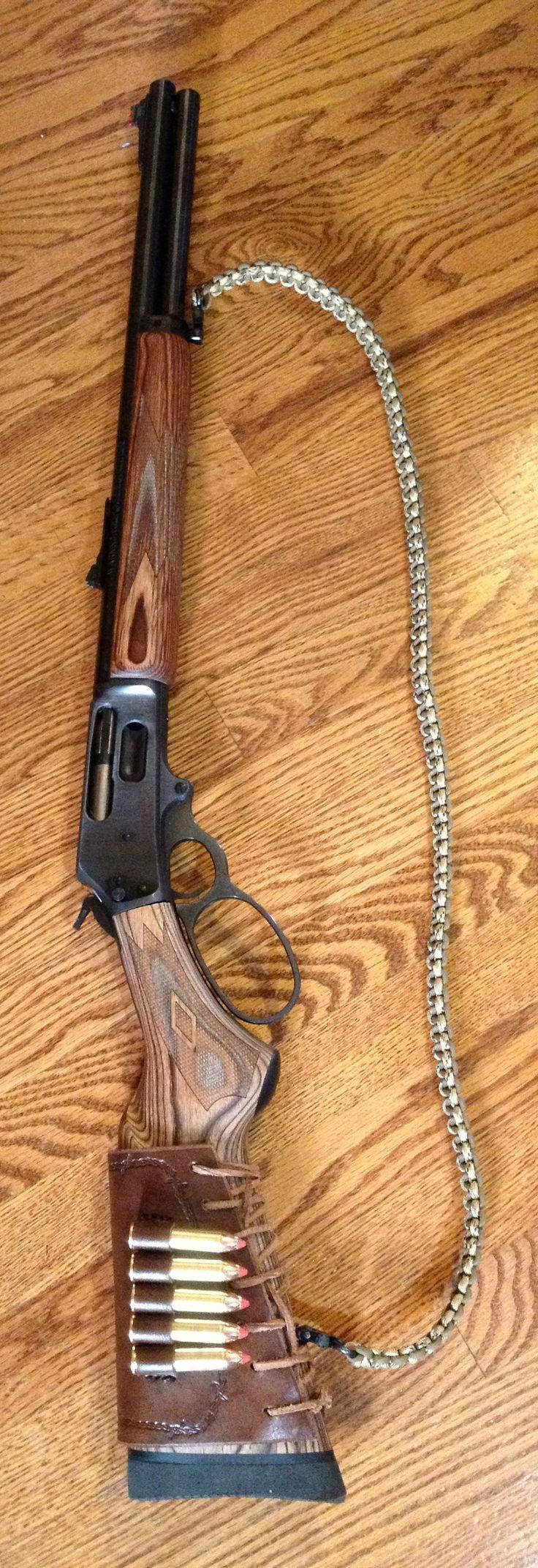 Marlin 1895GBL in .45/70! Great bear gun!