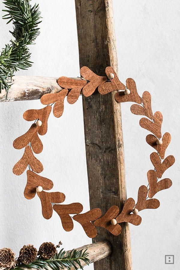 diy-weihnachten-mistelzweig-furnier