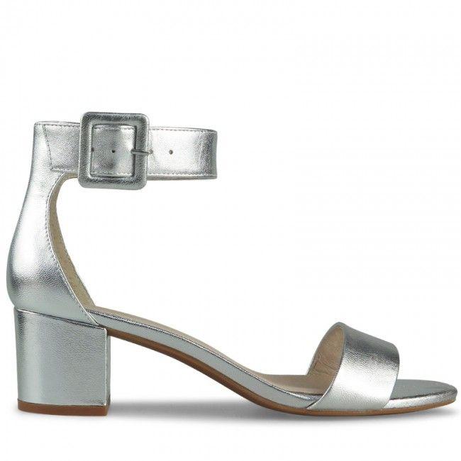 Wittner Aralyn Heel Silver Leather