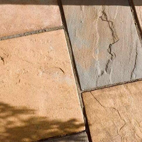 BB Old Riven - Bronze  #WestLothianLandscapeDesign #patio #material #artificial #fakegrass #artificialgrass #astroturf #grass #syntheticgrass #syntheticturf #garden #landscape #gardening #scotlandUK