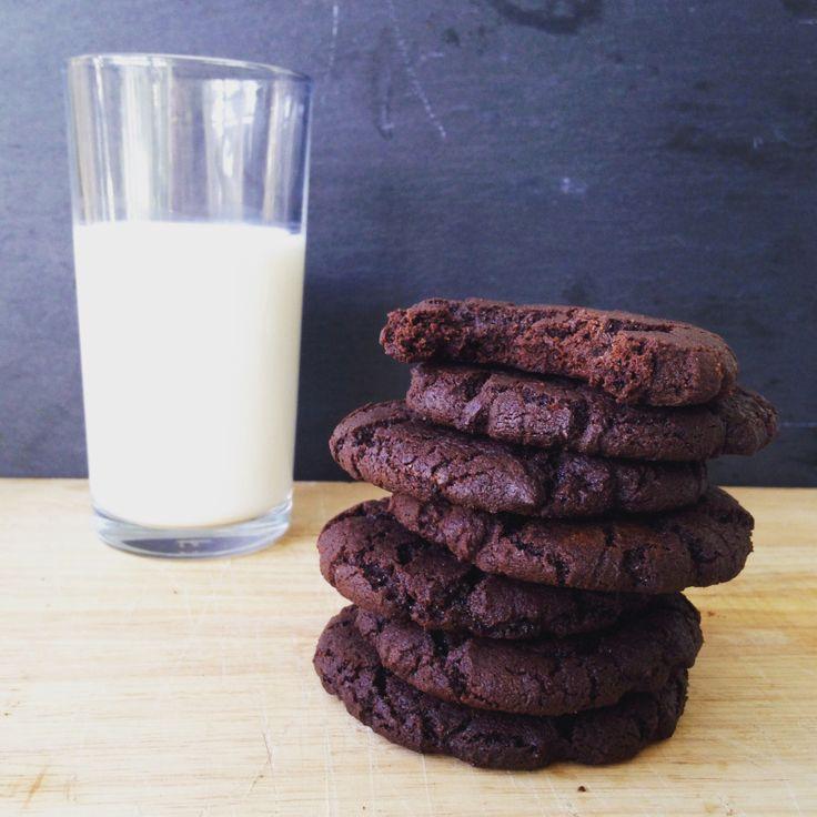 Salted Roast Cocoa Cookies