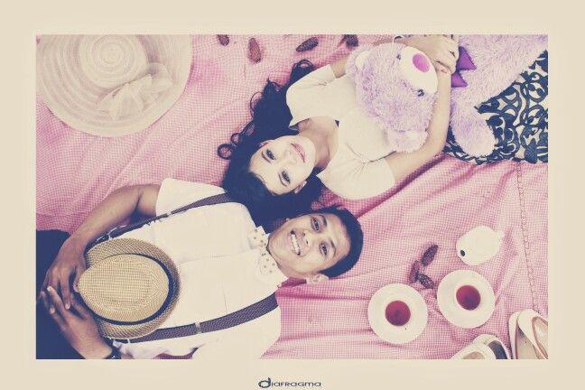 #prewedding #outdoor #love #vintage #pink
