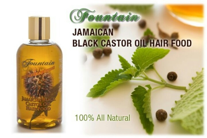 Not sticky, Not smelly, won't clog pores. Fountain Jamaican Black Castor Oil Hair Food
