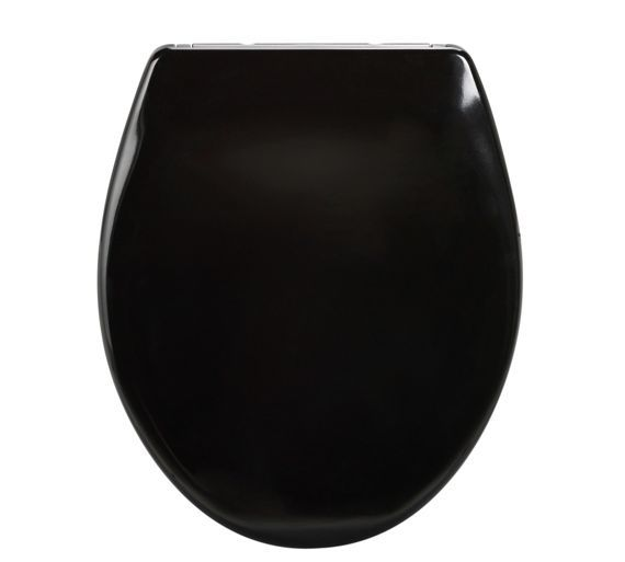 Buy HOME Slow Close Easy Clean Toilet Seat - Black at Argos.co.uk, visit Argos.co.uk to shop online for Toilet seats, Bathroom accessories, Home furnishings, Home and garden