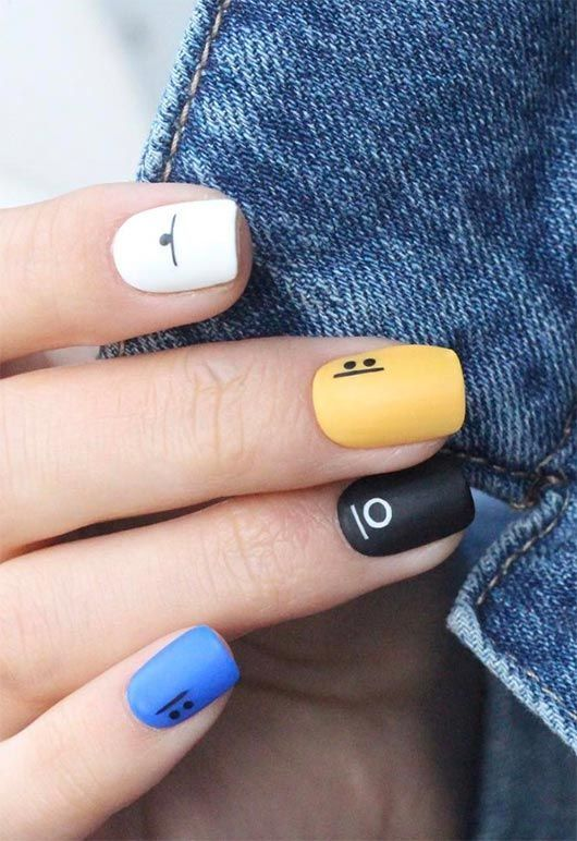 65 Stunning Nail Art Designs for Short Nails – Gelegentliche Nageldesigns