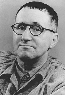 Bertolt Brecht (1898-1956), deutscher Dichter, Dramatiker, Schriftsteller und Theaterleiter, aus Augsburg