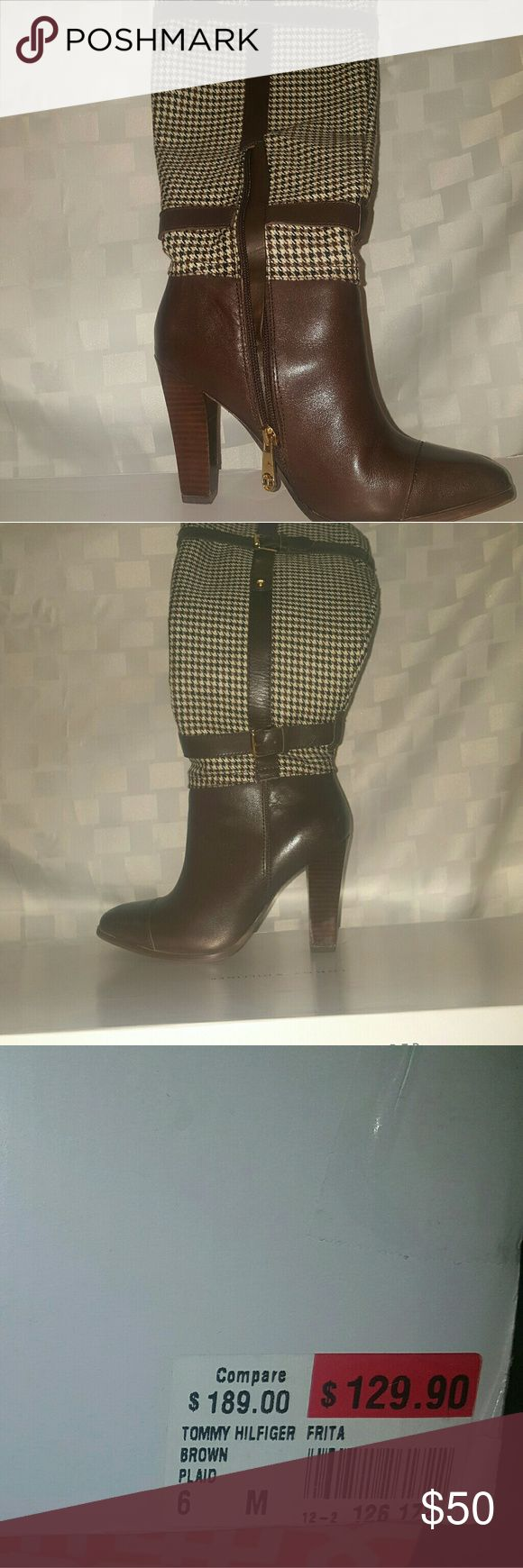 Tommy Hilfiger Women Riding Boots sz 6 Tommy Hilfiger Women Riding Boots sz 6 Tommy Hilfiger Shoes Heeled Boots