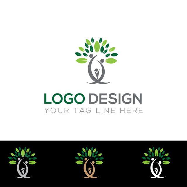 شجرة تصميم شعار Tree Logo Design Logo Design Tree Logos