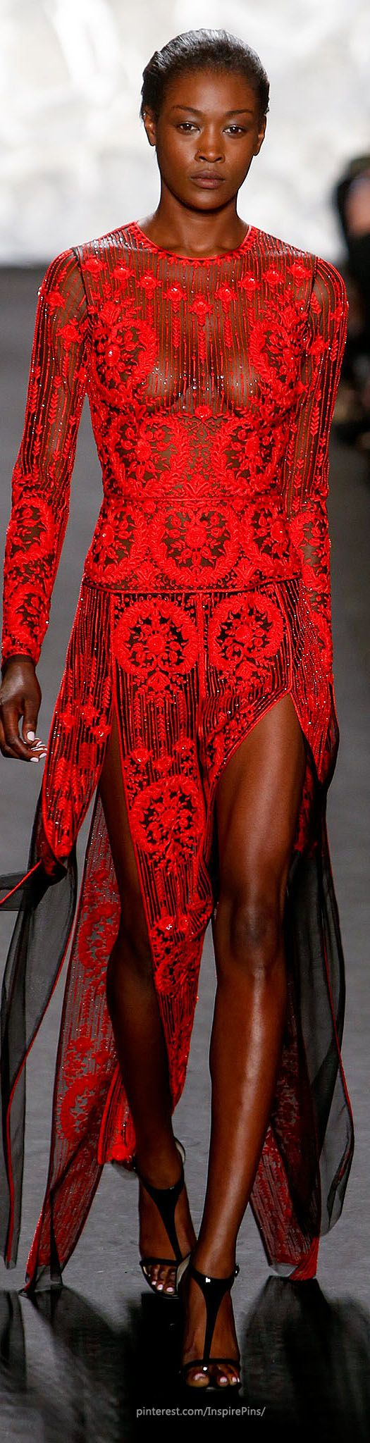Naeem Khan Spring 2015 Ready-to-Wear #HauteCouture