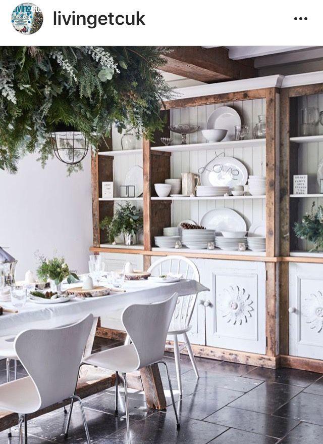 White dining room whitediningroom scaninavianstyle scandinavian style