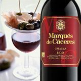 2008 Marques de Caceres Rioja Crianza - (The Wine Guy) 85% Tempranillo, 15% Garnacha, an incredible value at Trader Joe's for $10.99.  The DOCa quality wine coming out of Spain at these discount prices has to get your attention.  Rich red fruit with lingering spice, full bodied and complex high notes of vanilla and herbs.  Just wonderful and easy on the wallet.