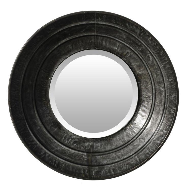 M s de 25 ideas incre bles sobre espejo grande redondo en for Espejo marco gris