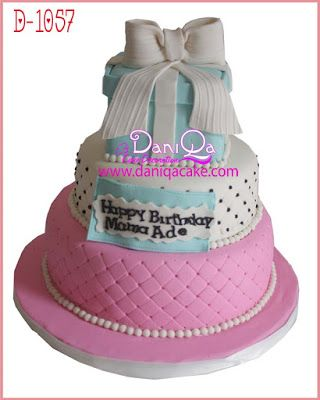 DaniQa Cake and Snack: Kue Ulang Tahun 17th