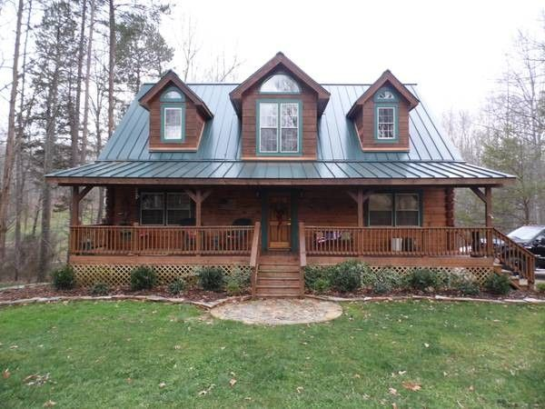 Log Cabin Metal Roof Homes Pinterest Cabin Logs