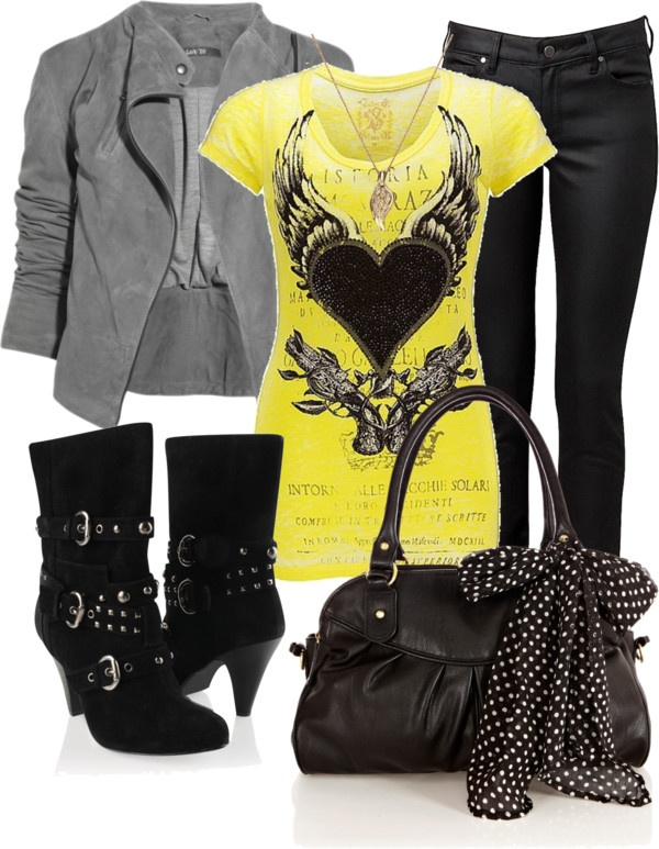 """Yellow"" by dori-tyson on Polyvore"