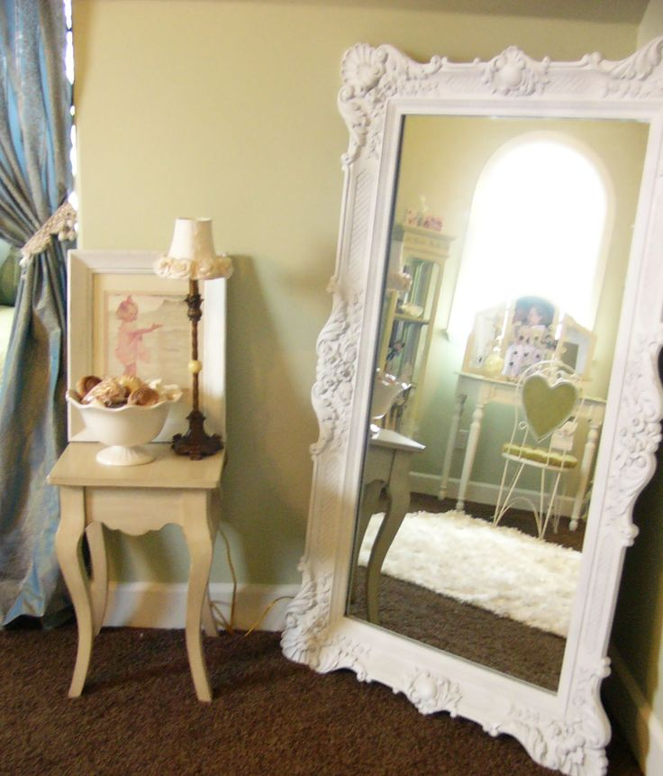 How cool is this mirror? Drew's Little Corner of The World: Shabby or Chic?