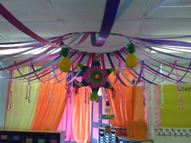 Classroom Ceiling Decoration Ideas : Tent ceiling decoration classroom theme pinterest