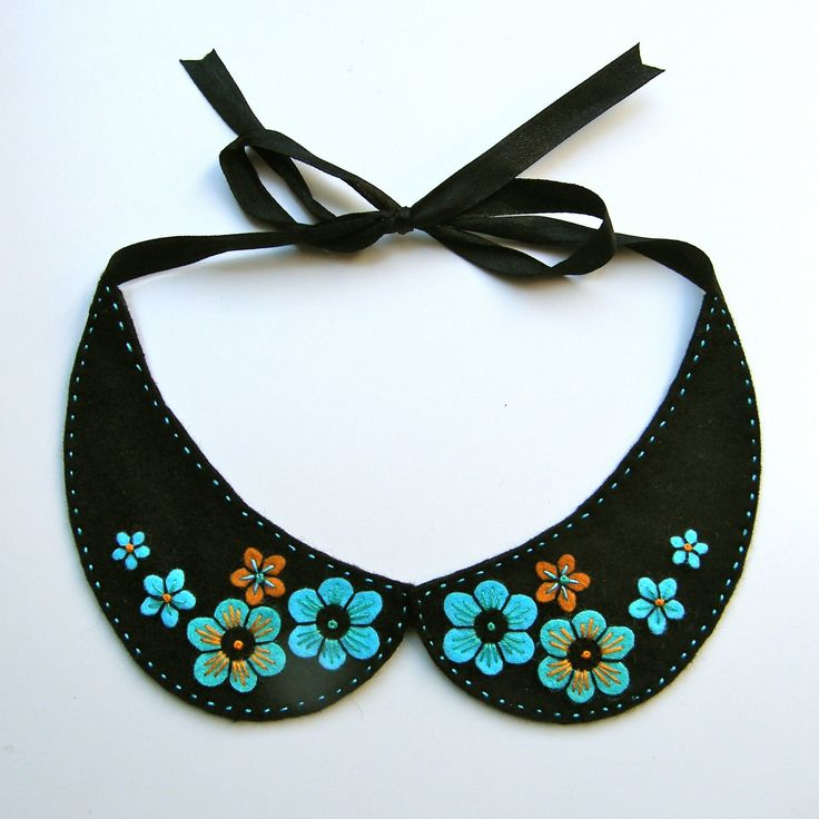 Yay, a collar, necklace, and felt all in one!