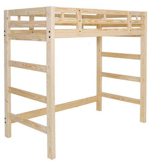 Upperclassman Twin Size Loft Bed
