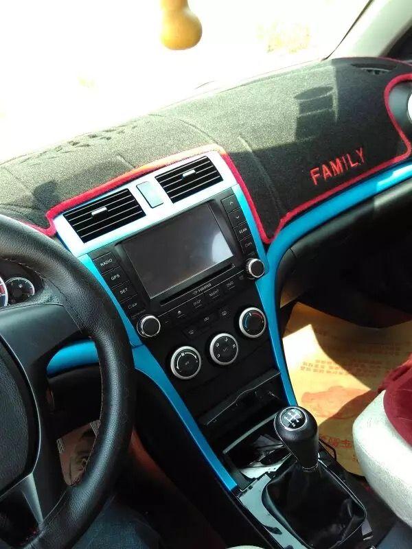 Easy DIY Car Interior Into Blue