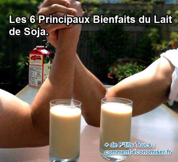 le lait de soja a des avantages pour les bébés