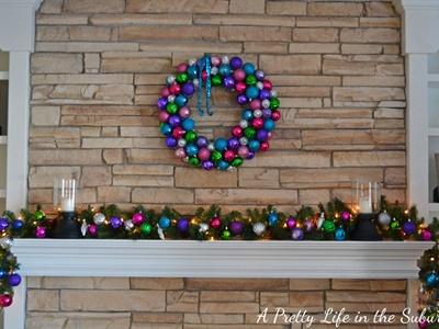 Pretty Christmas Mantle Decor Ideas