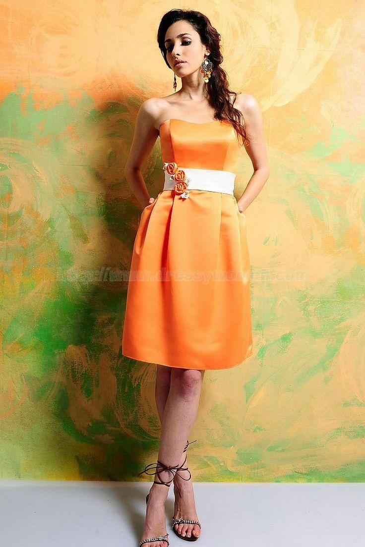 Camo and orange wedding dresses   best Bridesmaids Dress images on Pinterest  Wedding frocks
