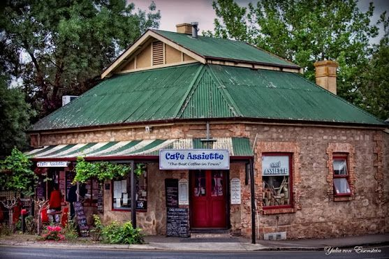 Caffe Assiette (our favourite place to eat) in Hahndorf, Adelaide Hills, South Australia