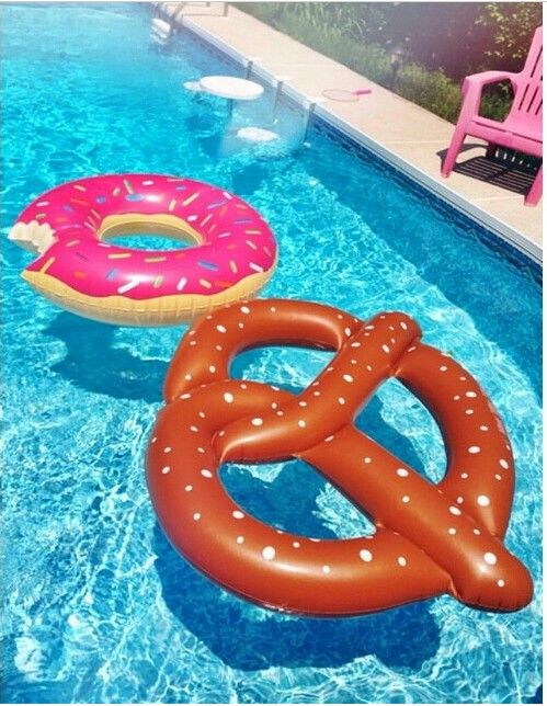 Food Inflatable Pool Floats