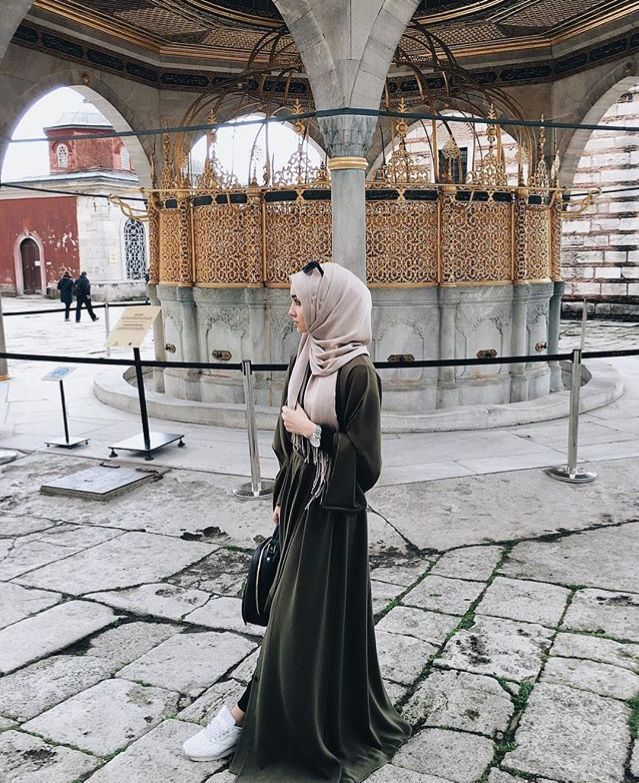 awesome Beautiful green abaya. Looks lovely, perhaps velvet ♡ #hijab #abaya... by http://www.newfashiontrends.pw/street-hijab-fashion/beautiful-green-abaya-looks-lovely-perhaps-velvet-%e2%99%a1-hijab-abaya/