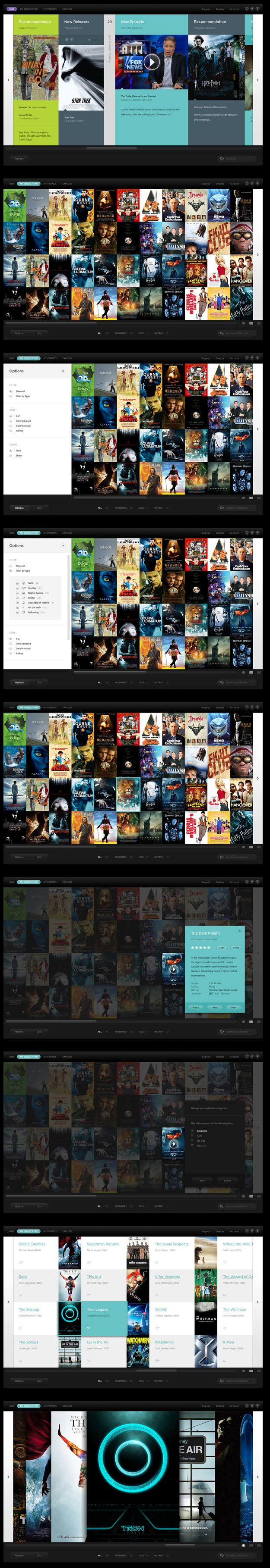 Warner Bros - I'm into grids, like really into grids, add some images and i'm a sucker