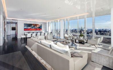 Téma+moderných+apartmánov+bude+vo+svete+architektúry+a+interiérového+dizajnu+stále+žiadaná+(aktuálna)+a+preto+dnes+nazrieme+do+jedného+takého+s+výhľadom+na+celý+Central+Park+v+New+Yorku.