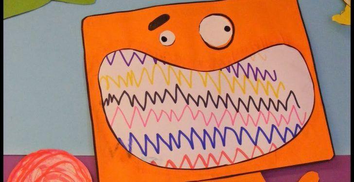 Ağzı Desenli Sevimli Canavarlar Kuklası