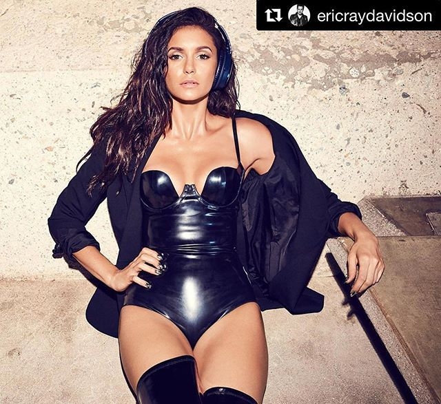 My Men's Health cover is on news stands now! Pick up your copy today!  #Repost @ericraydavidson with @repostapp ・・・ ◾️ @ninadobrev  photo x #ERD for @menshealthmag w @ilariaurbinati @riawnacapri @beau_nelson #NinaDobrev #Latex @atsukokudolatex ◾️
