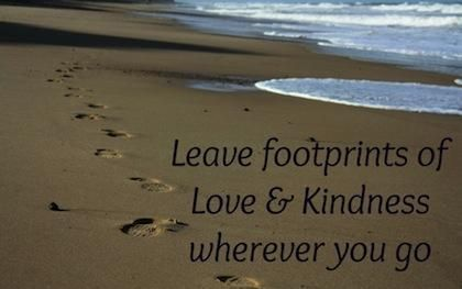 Wherever U go in life take kindness, understanding, hope & compassion with U, and U will always be invited back.#TA
