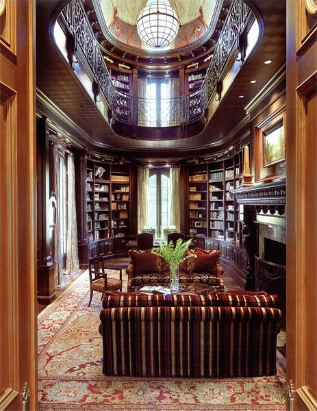 40 best Home: 2-story library images on Pinterest ...