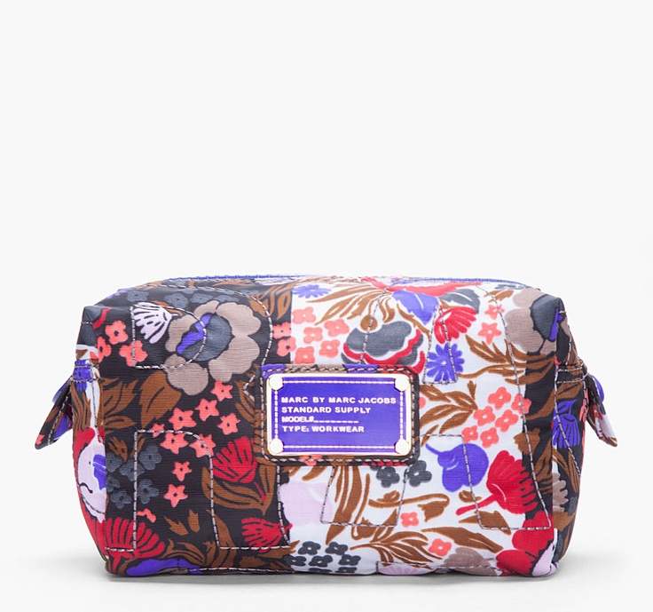 Marc By Marc Jacobs Multicolour Wallpaper Cosmetic Bag
