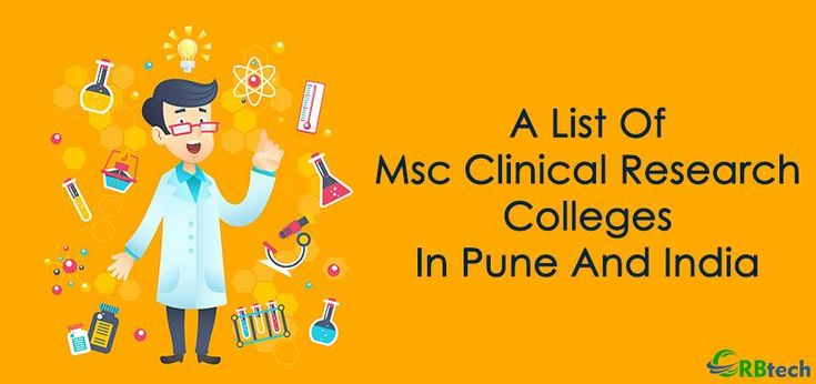 Here is the list of top and best M.Sc. Clinical Research Colleges in Pune and India and Its Scope